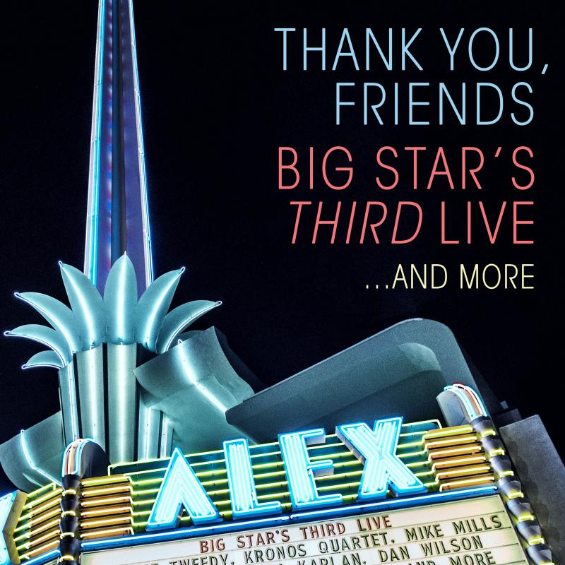 Cover art for Thank You Friends Big Star's Third Live
