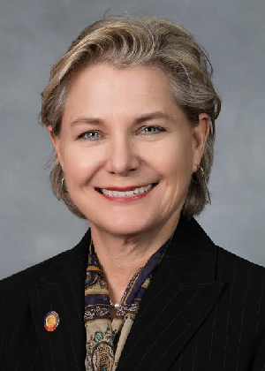 Deb Butler, member of the North Carolina House of Representatives, is one of three openly-LGBTQ members of the General Assembly.