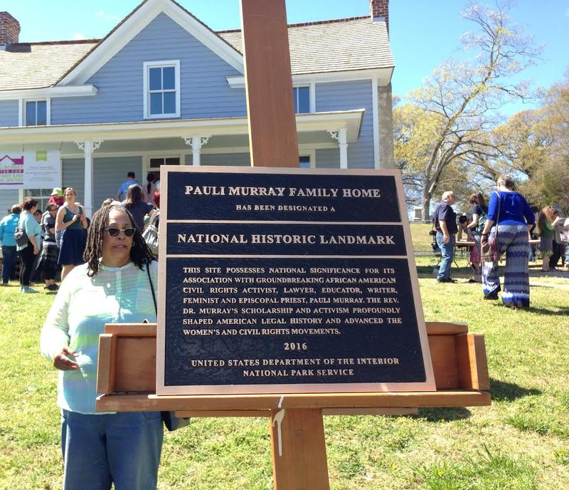 Pauli Murray, National Historic Landmark, Civil Rights, Women's Rights