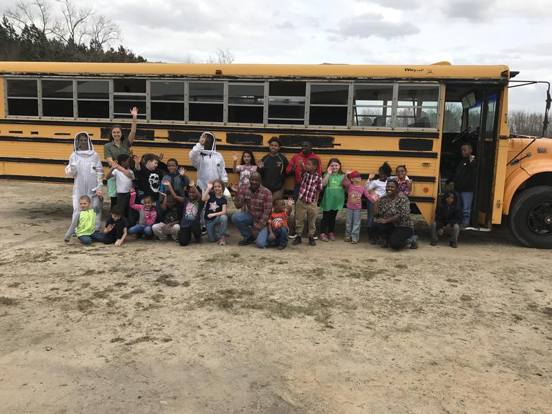 The Conetoe Family Life Center launched a school bus beekeeping program. Kids as young as twelve are now certified apiarists.