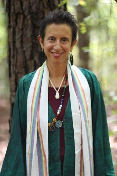 "Rinah Rachel Galper is an ordained Hebrew priestess and Jewish storyteller. She will participate in this Saturday's conference ""Coming Out Of The Shadows."""