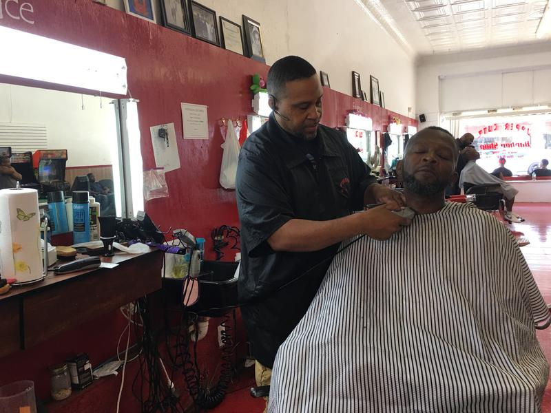 Horace Robinson of Upper Cutz in Rich Square.