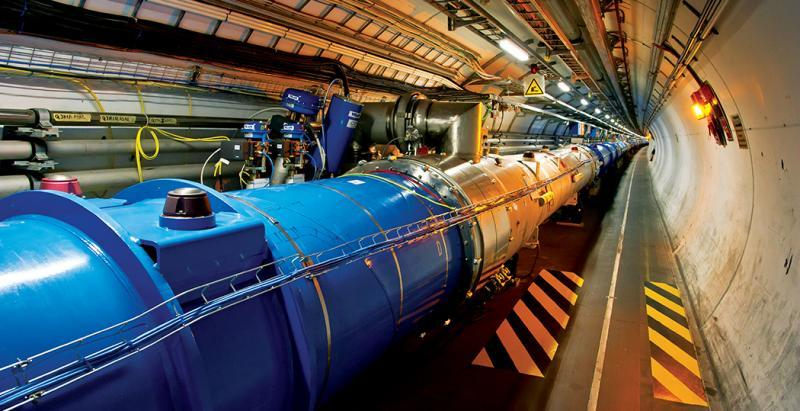 The Large Hadron Collider is the largest machine on earth. Scientists with the CERN's particle accelerator are working to unravel the mysteries of the universe.