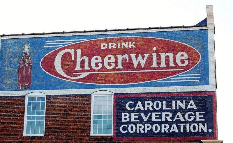 The original Cheerwine building.
