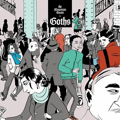 The Mountain Goats 4th release at Merge Records is a tribute to Goth music