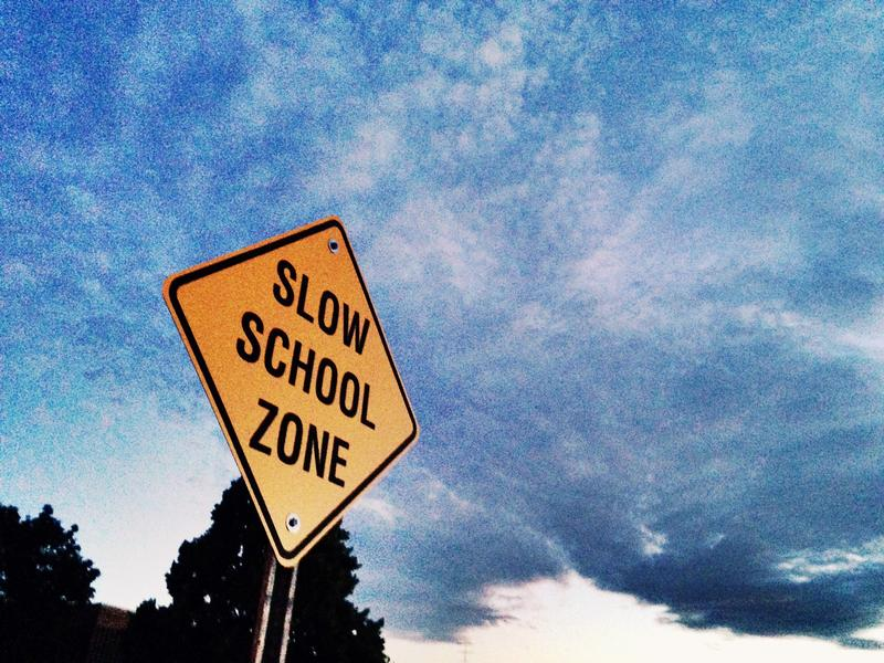 Durham wants drivers to slow down in school zones.