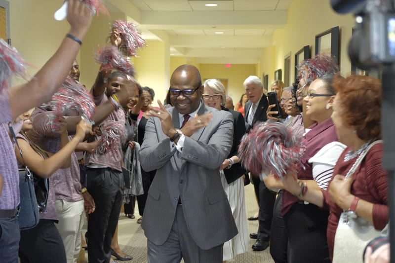 Johnson Akinleye has been named the new chancellor of NCCU.