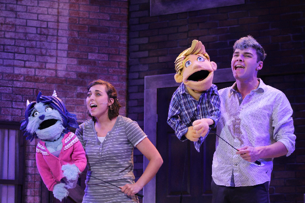 Brett Williams as Kate Monster and Aaron Boles as Princeton