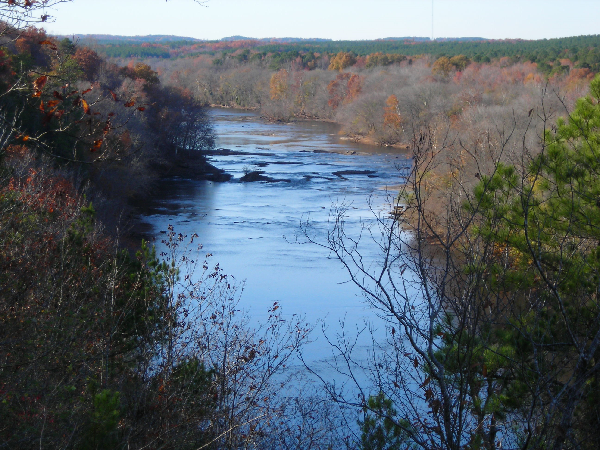 Cape Fear River, NC, at Raven Rock Park