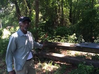 Devon Hall, Sr., is 62 and has lived in the Duplin County town of Warsaw all his life.