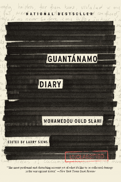 Cover of 'Guantanamo Diary' by Mohamedou Ould Slahi