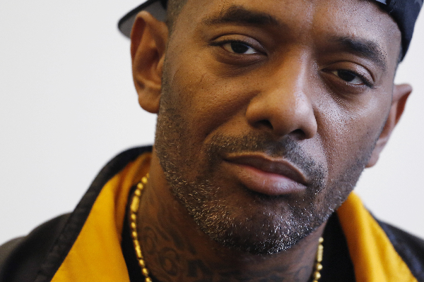 Photograph of rapper, Prodigy, aka Albert Johnson.