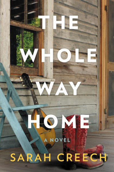 Cover of 'The Whole Way Home' by Sarah Creech