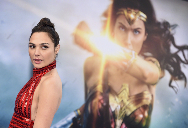 Gal Gadot arrives at the world premiere of