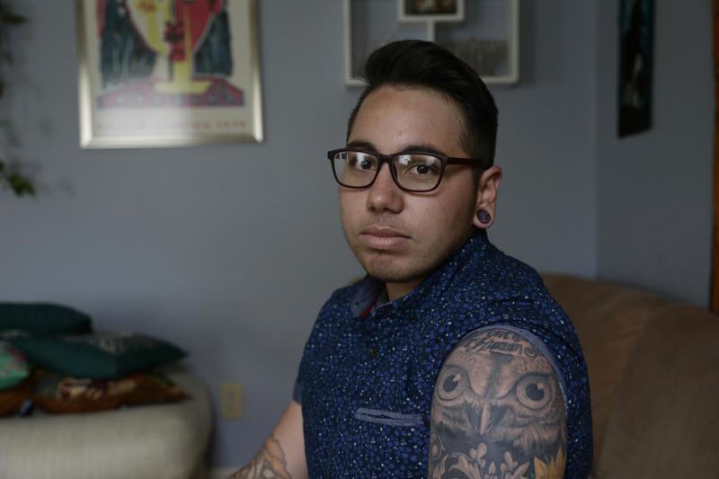 Transgender man Joaquin Carcano