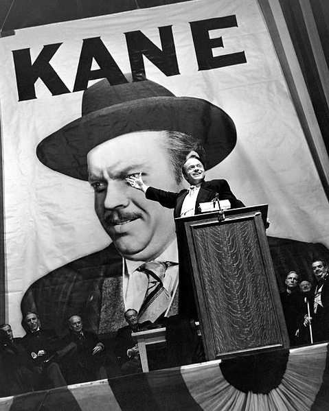 Promotional still for the movie, 'Citizen Kane'