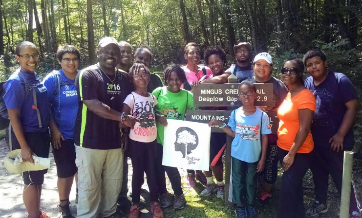 Hiking with Cassius Cash, the Superintendent of the Great Smoky Mountains National Park.