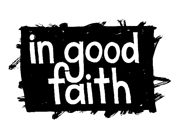 In Good Faith is a project documenting uncomfortable conversations about race between Kerra Bolton and A.J. Hartley.