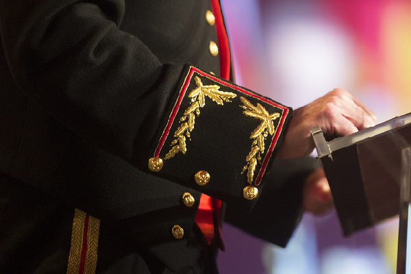 Arm of Gen. Joseph F. Dunford Jr.