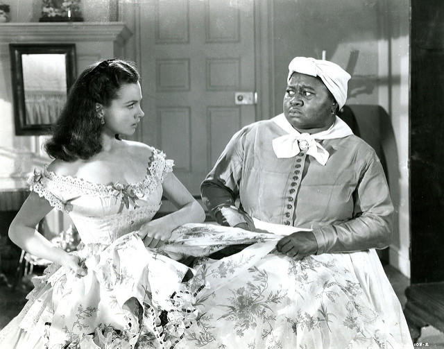 Gone With The Wind (1939) - Vivien Leigh & Hattie McDaniel