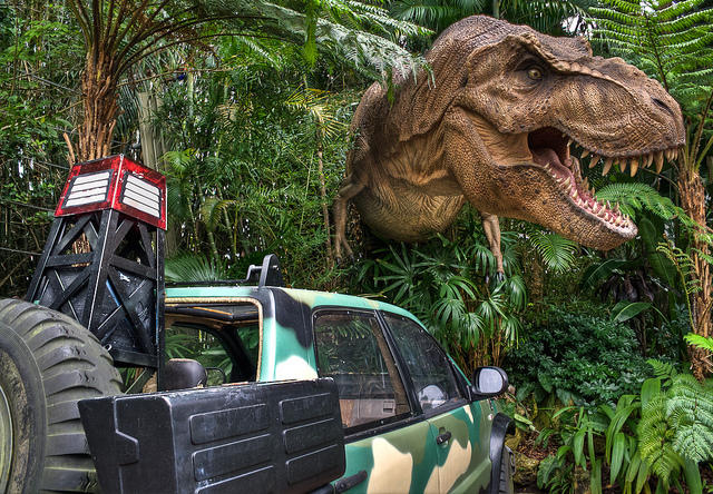 Jurassic Park at Universal Studios