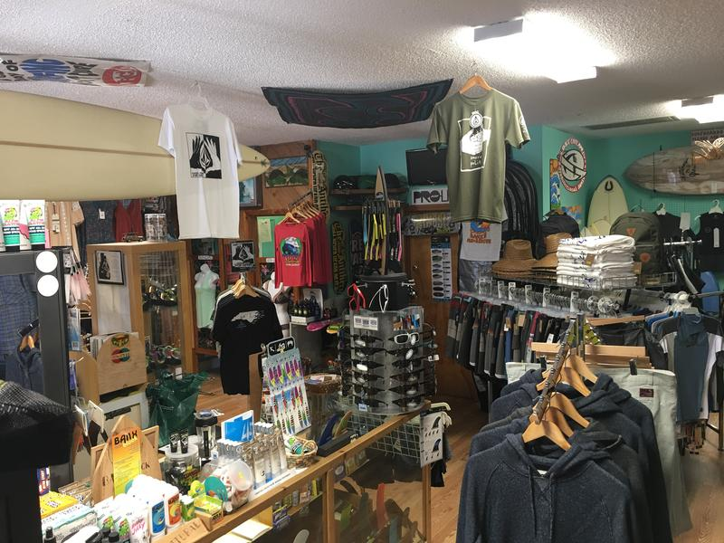 Inside the Rodanthe Surf Shop