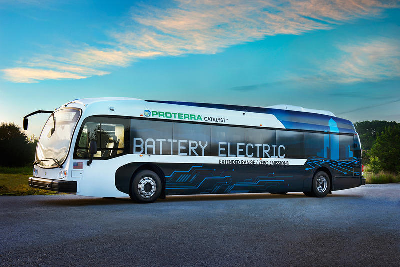 The Proterra company will make the buses that will come to RDU in 2019.