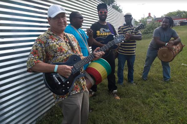 Members of Greensboro-based band, Africa Unplugged