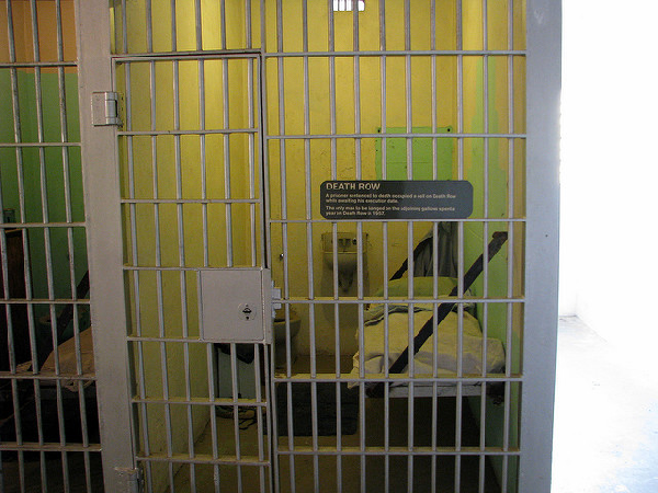 death row jail cell
