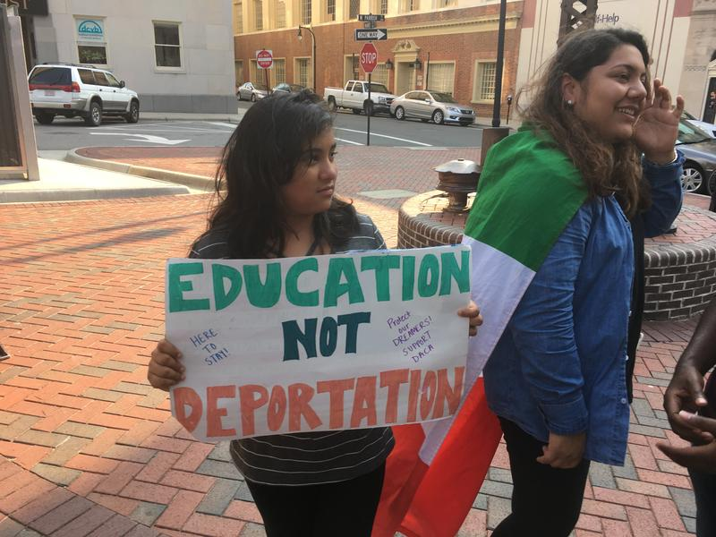 Natalie David (left) with her sister Linda David, a DACA recipient.