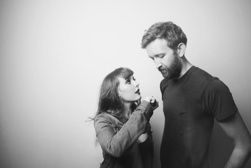 Amelia Meath and Nick Sanborn of Sylvan Esso