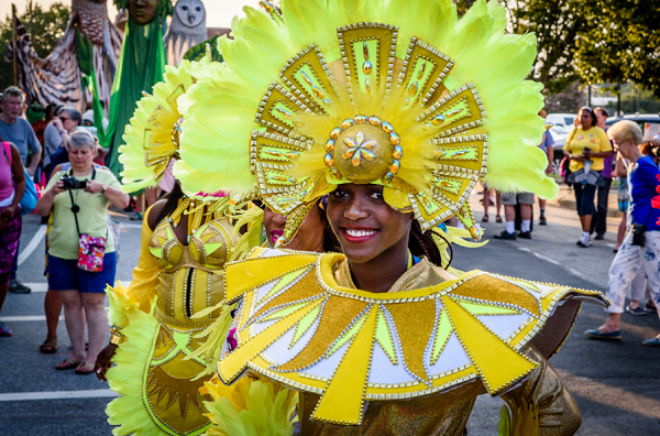 Bahamas Junkanoo woman