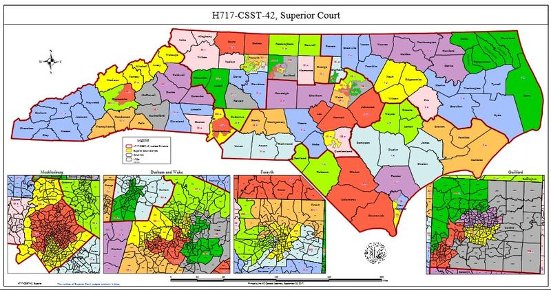 Superior Court map redistricting proposal H717