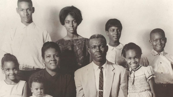 The James Henry Jones family.