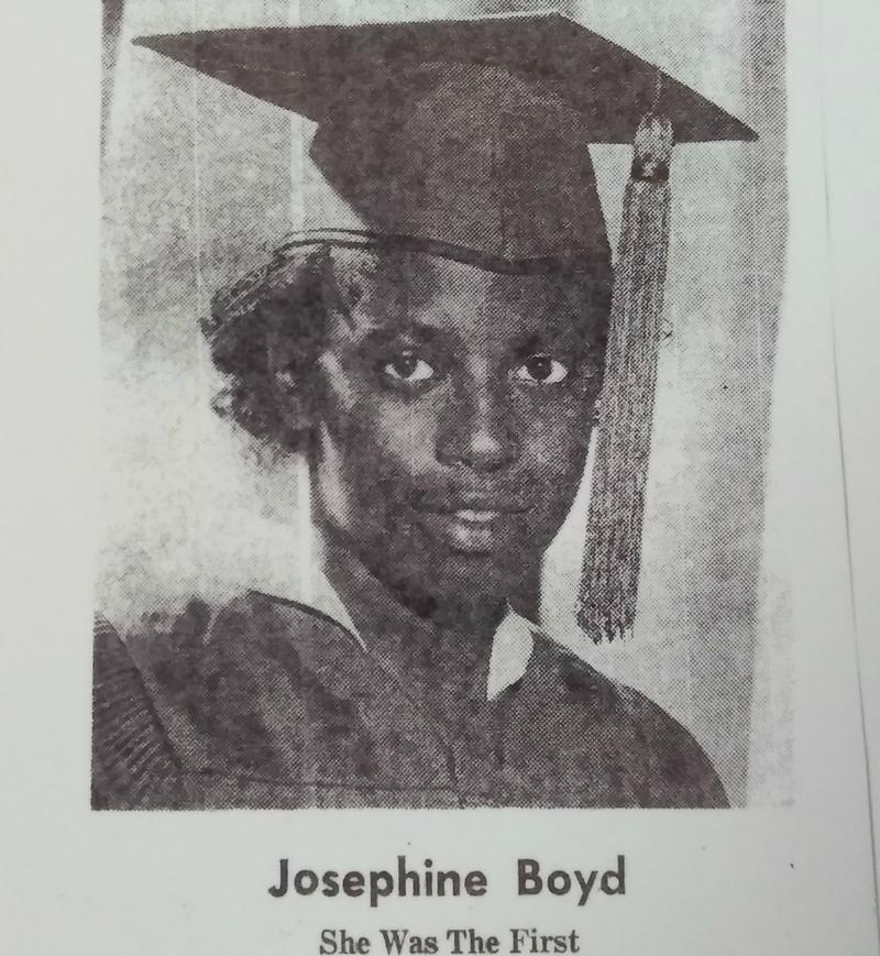 Josephine Boyd graduate