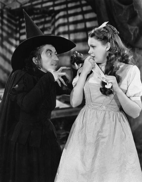 Publicity still from the 1939 MGM film The Wizard of Oz