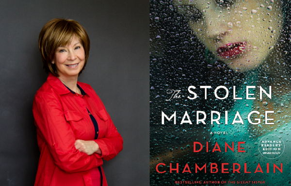 Diane Chamerlain, cover of 'Stolen Marriage'
