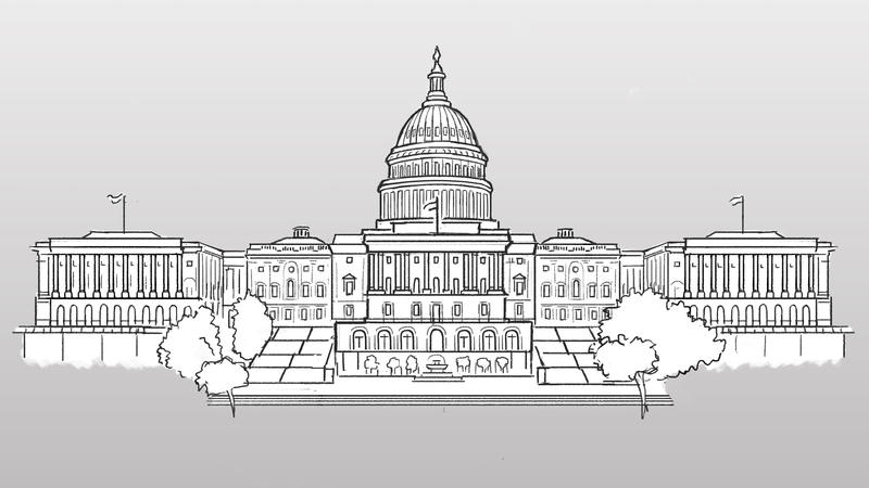 illustration of the U.S. Capitol building
