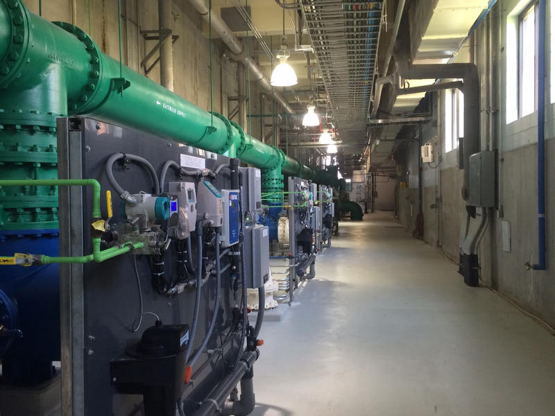 The Sweeney Water Treatment Plant in Wilmington is part of the Cape Fear Public Utility.