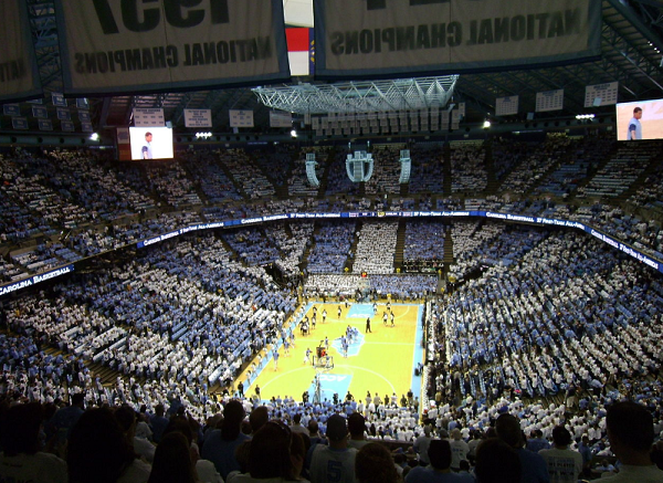 UNC Chapel Hill Basketball game