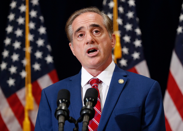 Veterans Affairs Secretary David Shulkin speaks during a press briefing in Bridgewater, N.J.