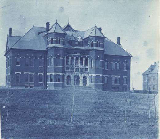 Main building at UNCG, 1893