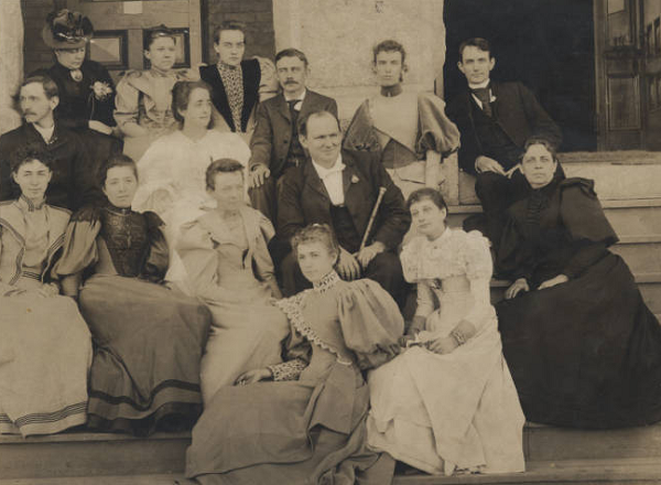 Charles Duncan McIver and faculty of the State Normal & Industrial School, 1893