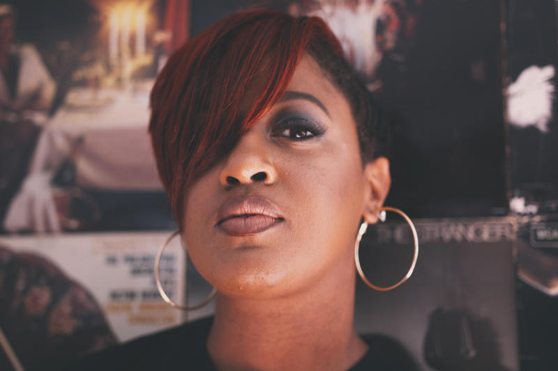 North Carolina-based rapper Rapsody is up for two 2017 Grammy nominations, one for best rap song, the other for best album.
