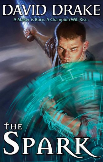 Cover of 'The Spark' by David Drake