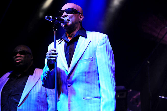 A picture of James Carter of the Blind Boys of Alabama