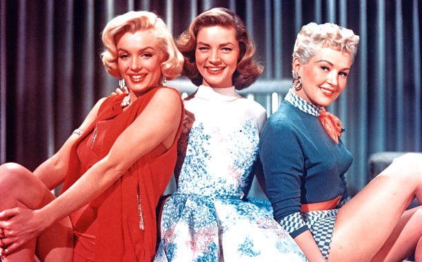 """Marilyn Monroe plays one of three suburbanites looking for an easy route to wealth in """"How to Marry a Millionaire"""" (1953)."""