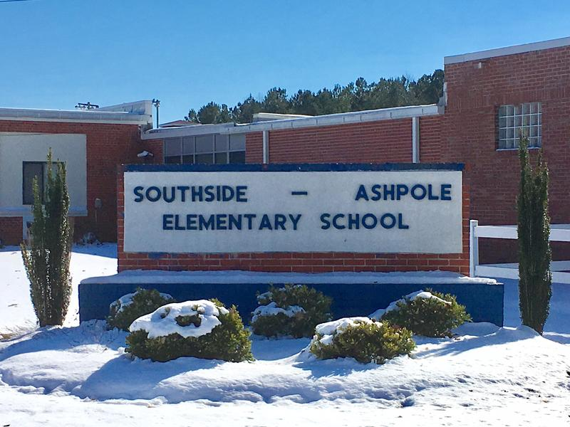 File photo of Southside-Ashpole Elementary in Robeson County.