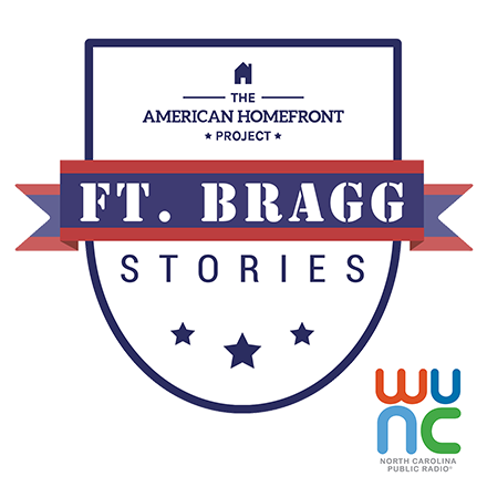 Ft Bragg Stories podcast logo