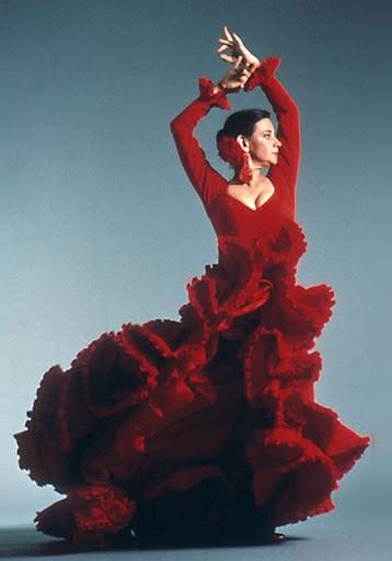 photo of carlota santana dancing